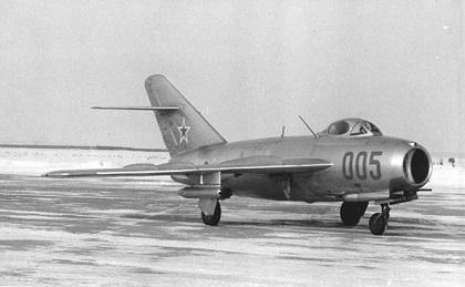 Ударный истребитель миг-17.