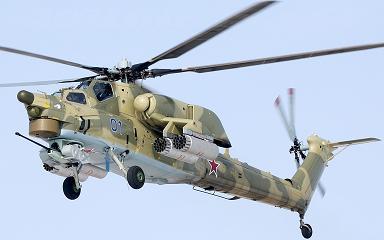 Ударный вертолет ми-28.