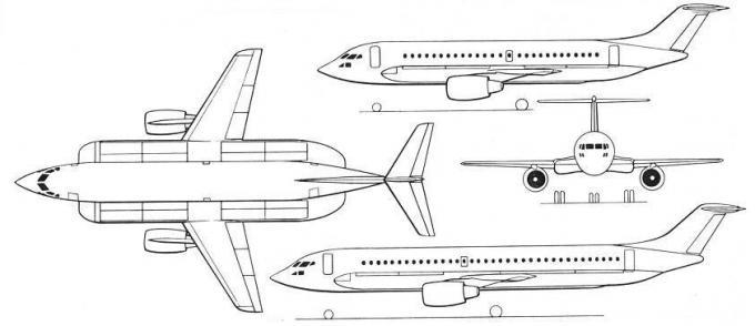 Уменьшитель аэропортов. проект пассажирского самолета hawker siddeley hs.141. великобритания