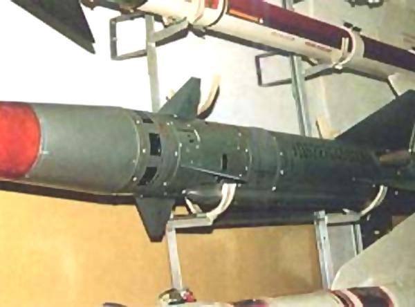 Управляемая ракета малой дальности к-55 (р-55).
