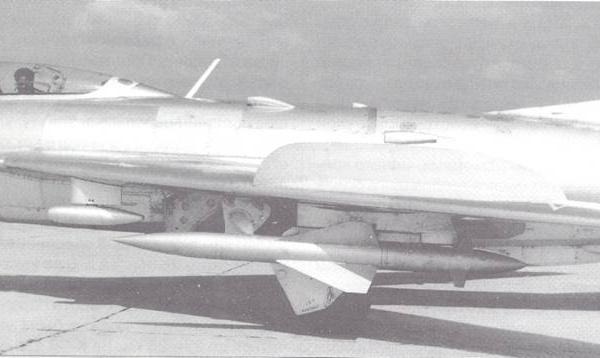 Управляемая ракета малой дальности к-6.