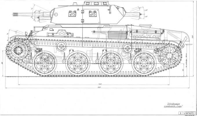 Условно тяжелый. средние танки strv m/42. швеция