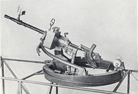 В тени великих держав. авиационные пулеметы мадсен м1927