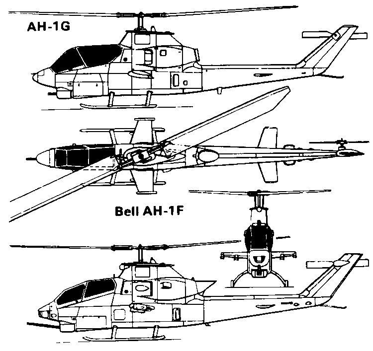 Вертолет ah-1g huey cobra. описание. характеристики. фото.