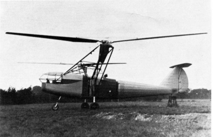 Вертолет focke achgelis fa 223. германия. часть 1