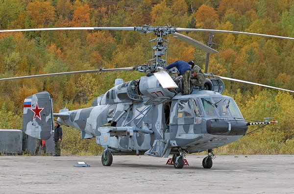 Вертолет ка-29. фото. история. характеристики.