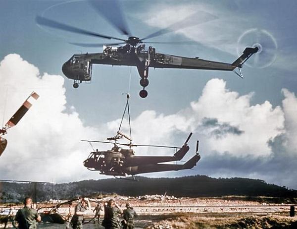 Вертолет - кран. вертолет подъемный кран