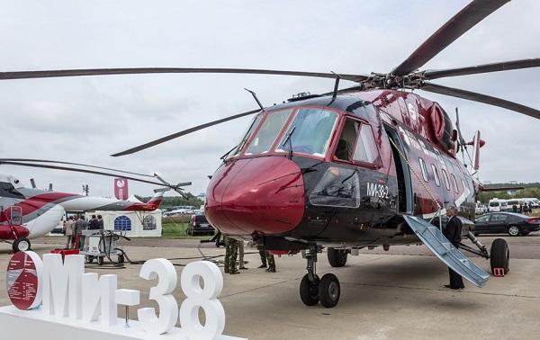 Вертолет ми-38. фото. история. характеристики.