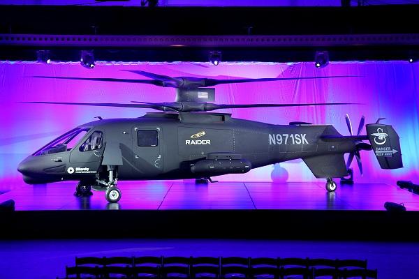 Вертолет sikorsky s-97 raider. фото. характеристики.