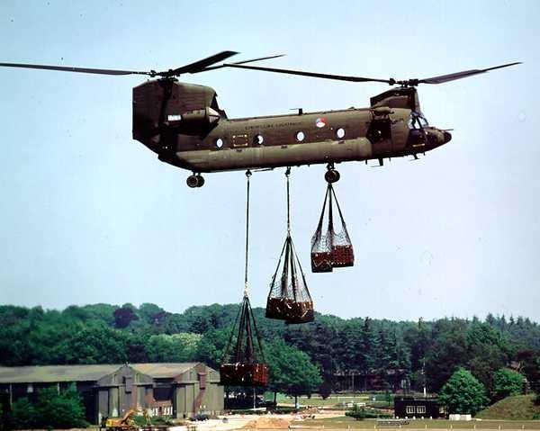 Вертолет строитель