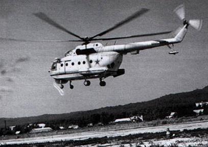 Вертолет-тральщик ми-14бт.