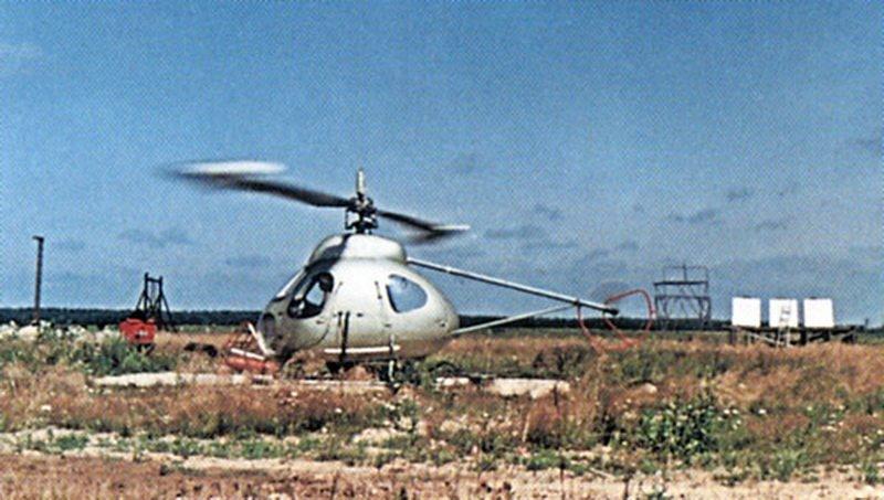 Вертолет в-7 - окб м. л. миля. фото.