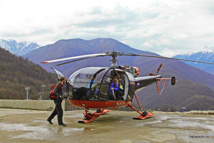 Вертолёт aerospatiale sa 315b lama. технические характеристики. фото.