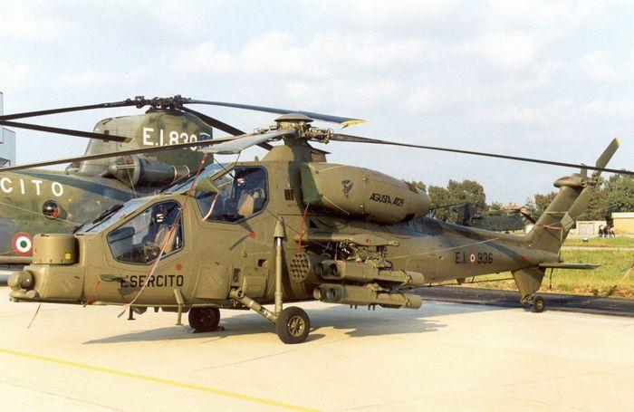 Вертолёт agusta a129 mangusta. технические характеристики. фото.