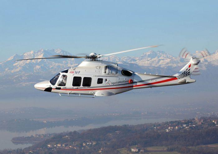 Вертолёт agustawestland aw169. технические характеристики. фото.