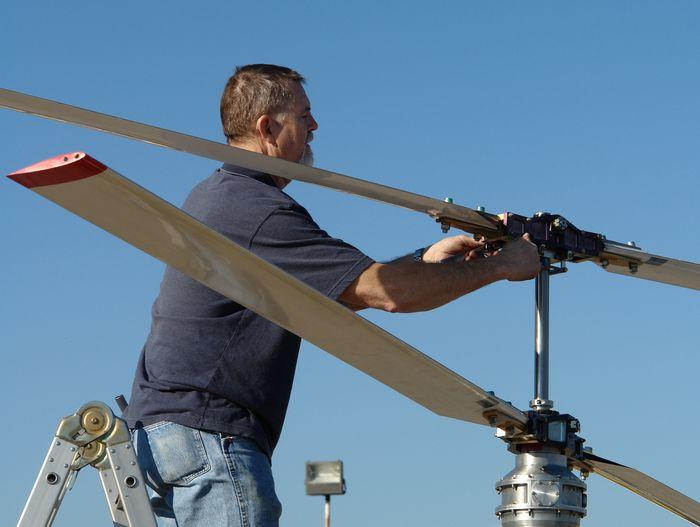 Вертолёт airscooter ii. технические характеристики. фото.