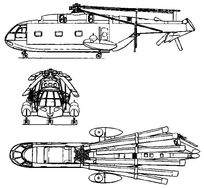 Вертолёт bolkow bo 46. технические характеристики. фото.