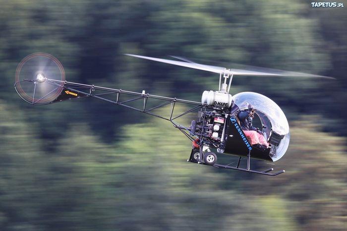 Вертолёт canadian home rotors safari. технические характеристики. фото.