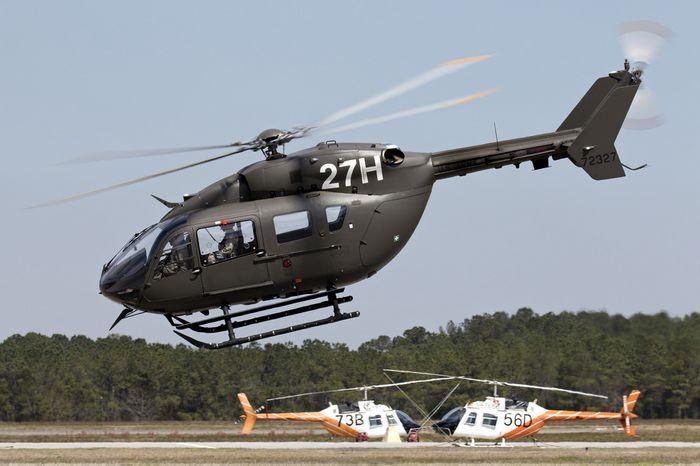 Вертолёт eurocopter uh-72 lakota. технические характеристики. фото.