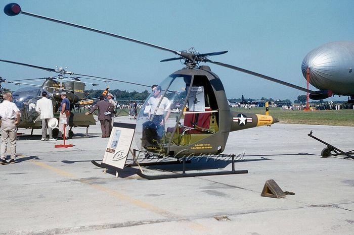 Вертолёт hiller yh-32 hornet. технические характеристики. фото.