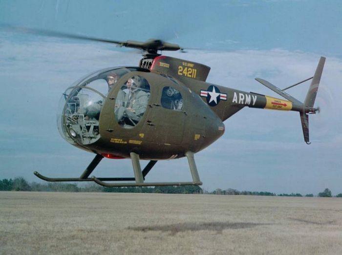Вертолёт hughes oh-6 cayuse. технические характеристики. фото.