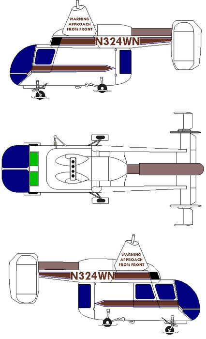 Вертолёт kaman hh-43 huskie. технические характеристики. фото.