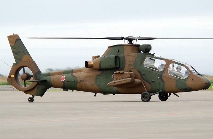 Вертолёт kawasaki oh-1 ninja. технические характеристики. фото.