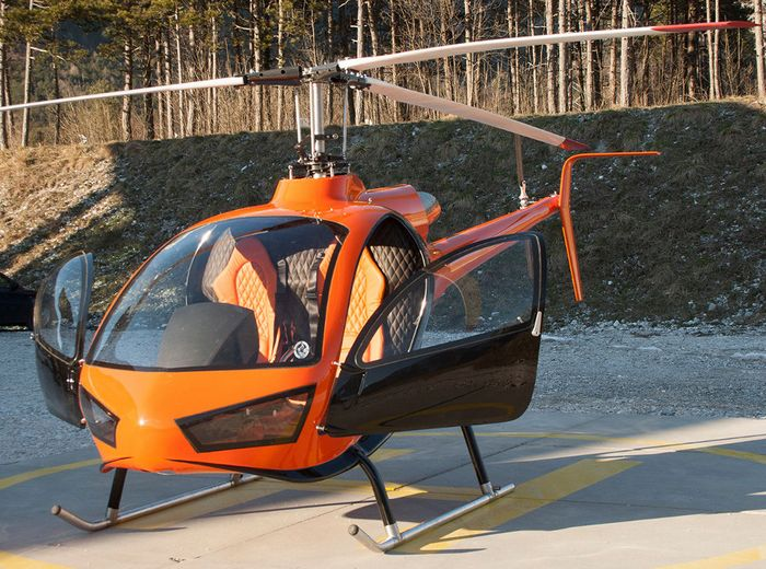Вертолёт konner k1. технические характеристики. фото.