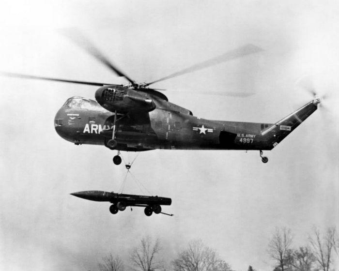 Вертолёт sikorsky ch-37 mojave. технические характеристики. фото