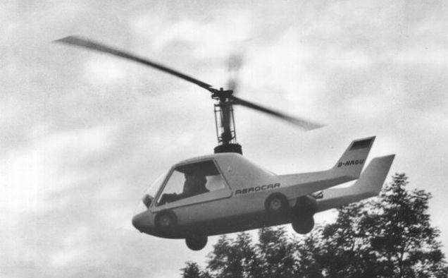 Вертолёт wagner fj-v3 aerocar. технические характеристики. фото.