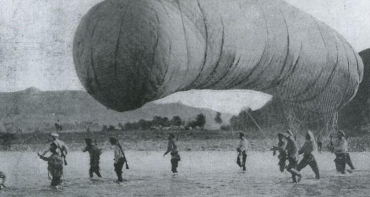 Воздухоплавательные части в русско-японской войне 1904-1905 гг.