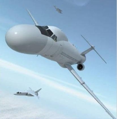 Всевидящее око для королевы. проекты самолётов дрло от bac по программе asr.387