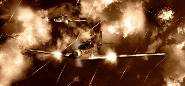 Вторая мировая война: развитие истребителей