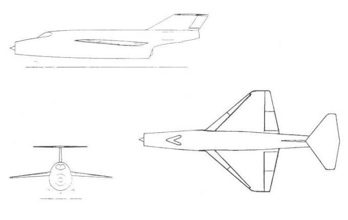 Высокоскоростные исследовательские самолеты 1952-62 годов. проект экспериментального самолета saunders-roe p.163