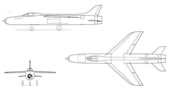 Высокоскоростные исследовательские самолеты 1952-62 годов. проект экспериментального самолета vickers (supermarine) type 553