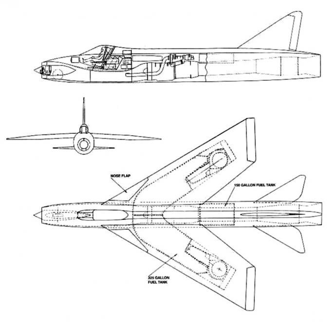 Высокоскоростные исследовательские самолеты 1952-62 годов. проекты высокоскоростных экспериментальных самолетов english electric