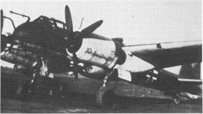 Высотный бомбардировщик и дальний разведчик junkers ju 388. германия часть 2