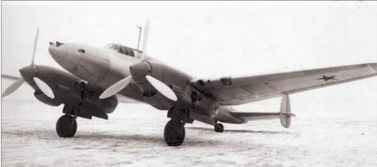 Высотный истребитель ви-100.