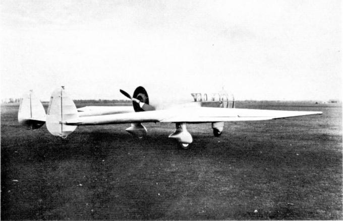 Высотный самолет для аэрофотосъемки abrams explorer p-2 stratoplane. сша