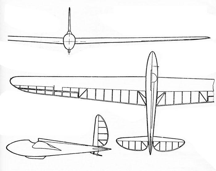 X всесоюзные планерные состязания 1934 года.