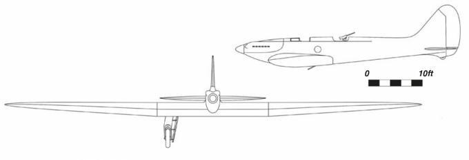 Забытые монопланы генри фолланда часть 5 легкий бомбардировщик спецификации p.27/32