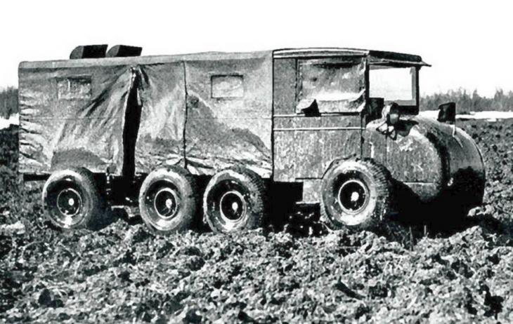 Забытые страсти 8?8: экспериментальные четырехосные грузовики в ссср