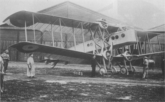 Забытый самолет 1916 года. опытный тяжелый бомбардировщик bleriot b.lxvii. франция