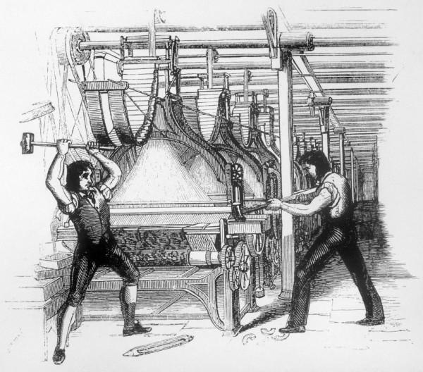 Занимательная англия. «восстание луддитов»: народ против промышленной революции