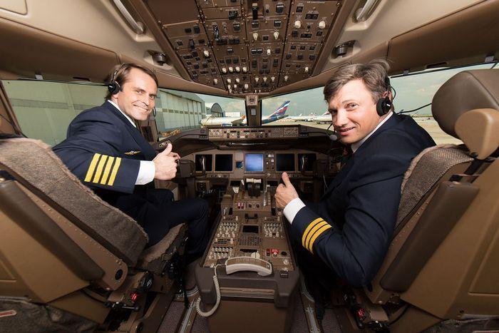 Зарплата капитана аэрофлота.