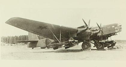 Звено-спб как основа бомбардировочной авиации ркка